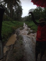 rough roads in Bougainville