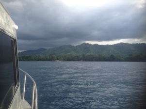 heading back to Walindi